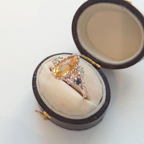 K10 Ring (Yello beryl)