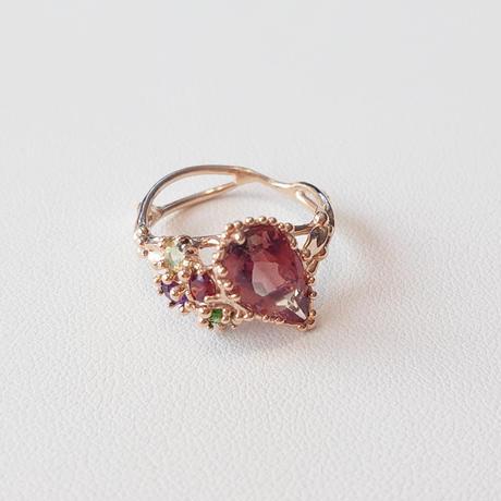 K10 Ring (Oregon Sunstone)