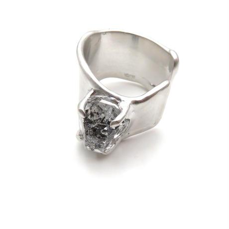 Charm Ring №215 / Herkimer Diamond