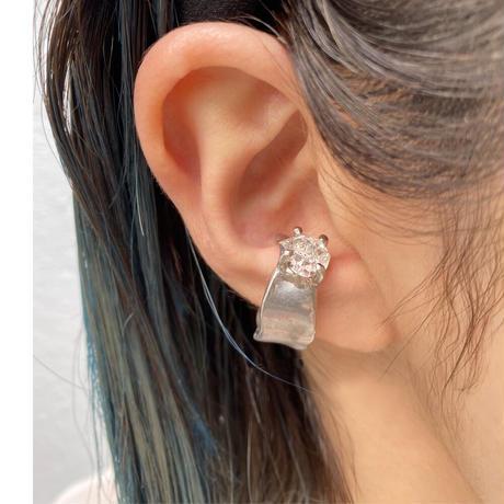 Charm Ring  №430 / Herkimer Diamond