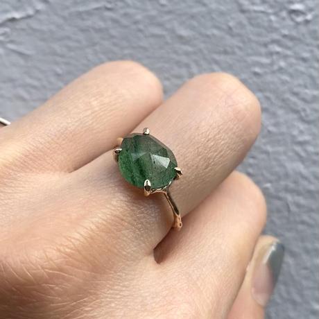 Charm Ring  №488 / Aventurine