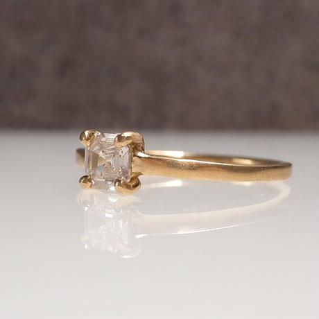 K18 Diamond Ring  №552