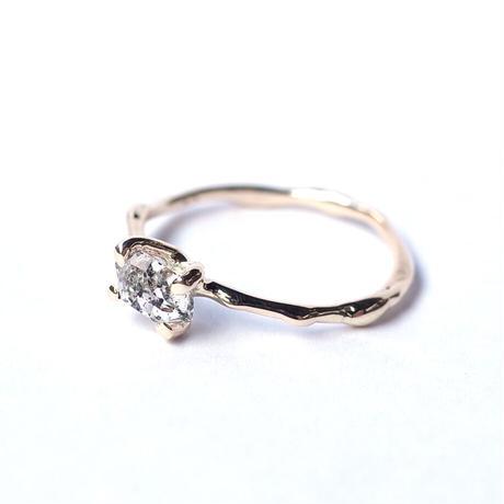 Charm Ring  №294 / Oil in Quartz