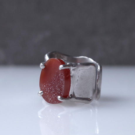 Charm Ring  №449 / Agate
