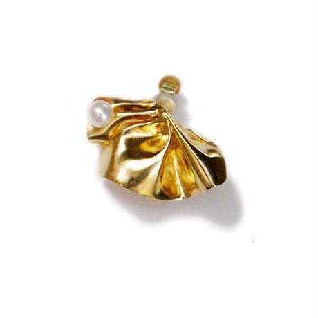Raffle (M) イヤリング  Gold / Silver