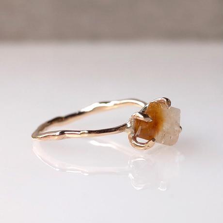Charm Ring  №495 / Citrine