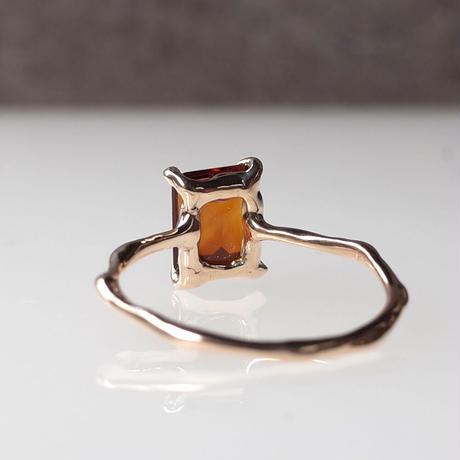 Charm Ring  №422 / Citrine