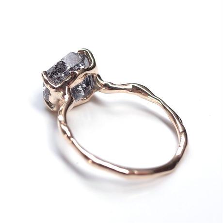 Charm Ring  №349 / Herkimer Diamond
