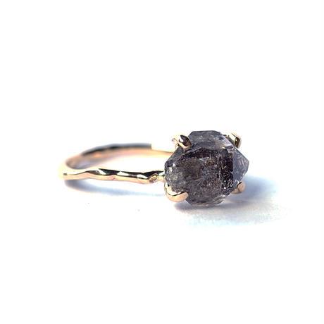 Charm Ring №271 / Herkimer Diamond