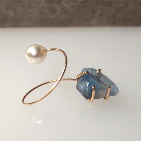 Charm Pierce №120 (Blue Fluorite)