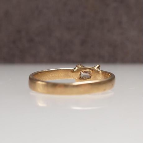 K18 Diamond Ring  №551