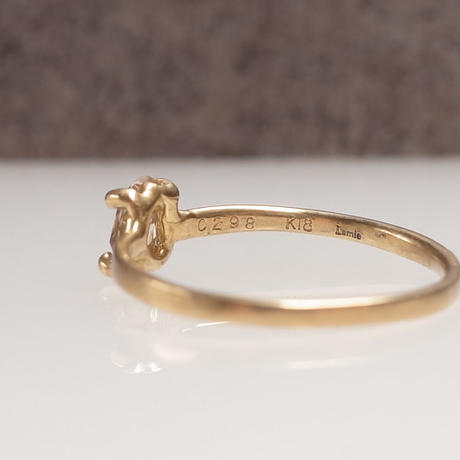K18 Diamond Ring  №554