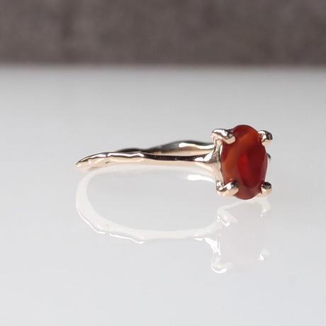 Charm Ring  №424 / Fire Opal
