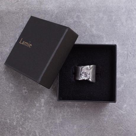 Charm Ring  №452 / Dendritic quartz