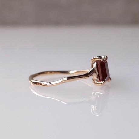Charm Ring  №497 / Pink Tourmaline