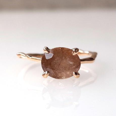 Charm Ring  №494 / Axinite