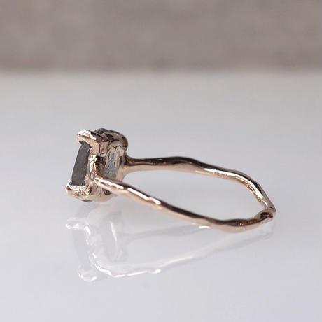 Charm Ring  №487 / Labradorite