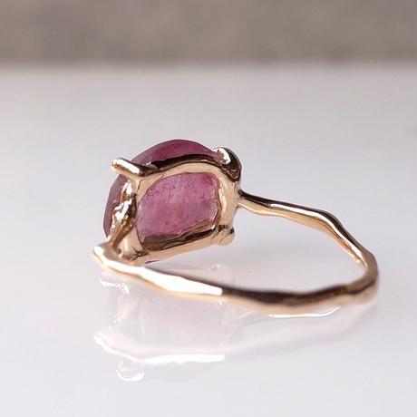 Charm Ring  №496 / Tourmaline