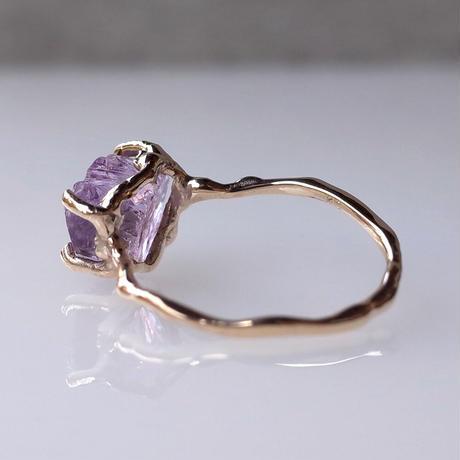 Charm Ring  №503 / Amethyst