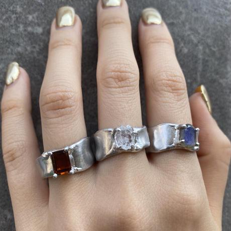 Charm Ring  №481/ Citrine