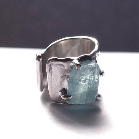 Charm Ring  №388 / Aquamarine