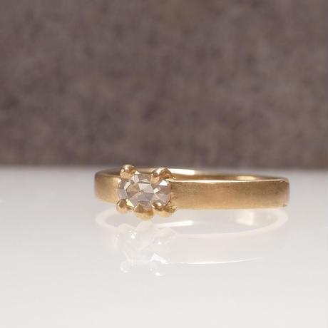 K18 Diamond Ring  №553