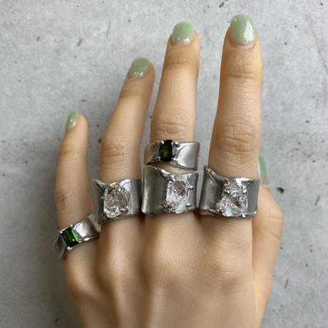 Charm Ring  №438 / Tourmaline