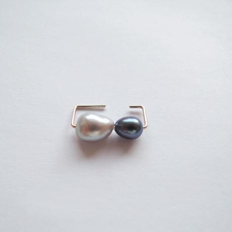 K10 simple ear cuff square