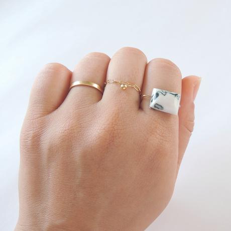 K10 three agate ring