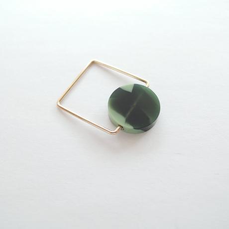 K10 green jasper ring
