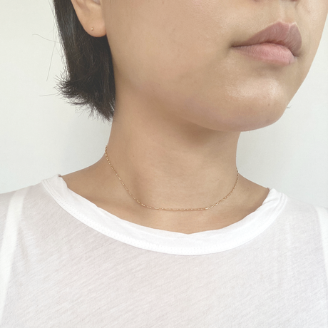 OR_K18  no.1 necklace
