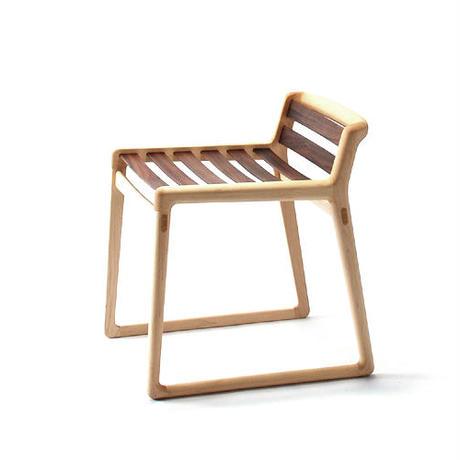 comodo stool (メープル+ウォールナット/展示品)