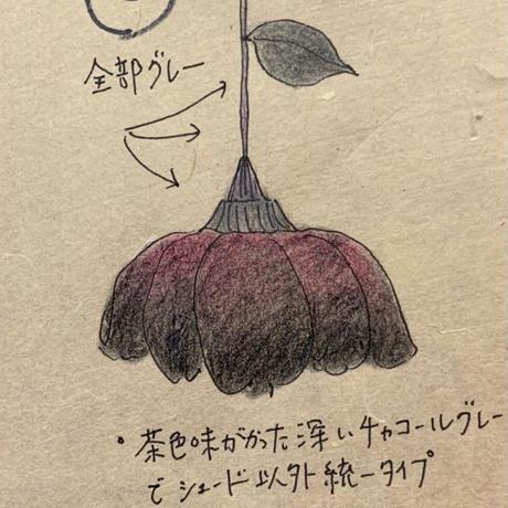 Y様オーダー/黒薔薇Lサイズ