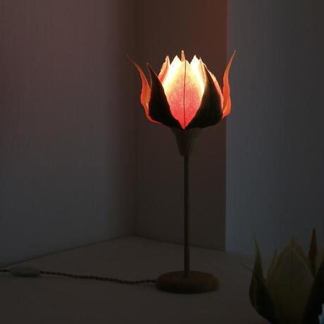 薔薇の蕾/テーブルランプ・ハイ