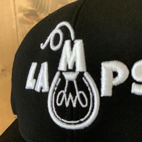 LAMPS   3Dロゴ刺繍 (WHT)
