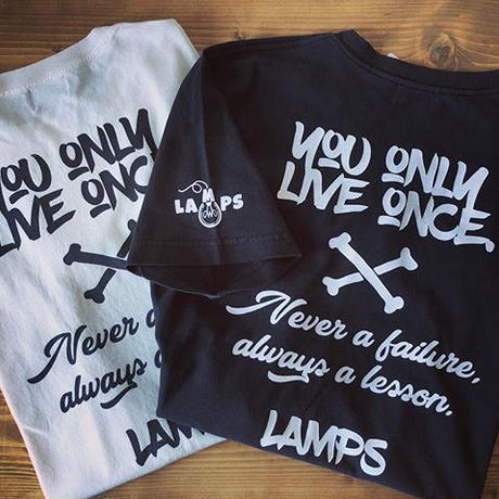 LAMPS クロスボーン Tシャツ