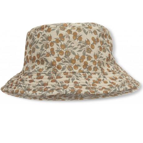 【konges sloejd】Aster bucket hat/orangery beige