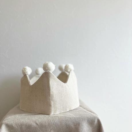 【rokka design】play  crown/natural