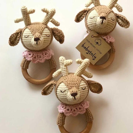 【babytoly】Rattle fawn 🦌