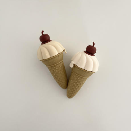 【konges  sloejd】4PACK SILICONE ICE CREAM MOULDS-MULCH