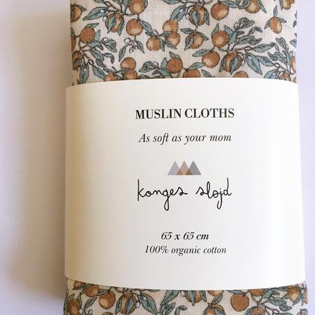 【Konges Sløjd 】 Muslin Cloths . Orangery Beige