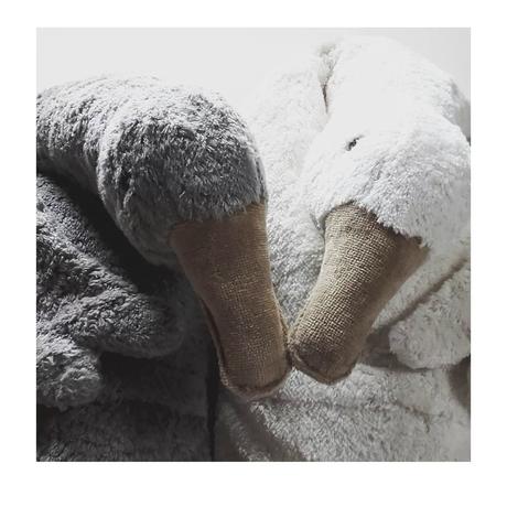 即納【Senger Naturwelt】goose /off-white /L