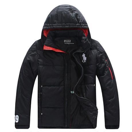 高品質 POLO/ポロ・ ラルフローレン防寒防水軽便なダウンジャケット コート メンズ