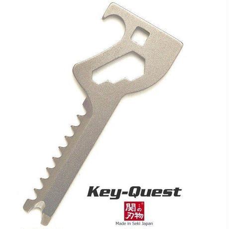 Key-Quest キークエスト 6 in 1 多機能  マルチツール  鍵型便利ツール ツカダ