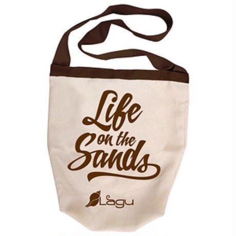 Lagu Bag 砂がつかない ビーチバッグ レジャーバッグ ビーチヨガ エコバッグ ラグ バッグ