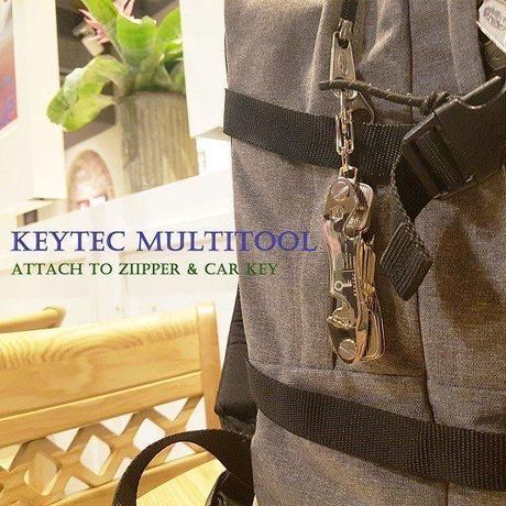 KEYTEC Z3 多機能 キーケース コンパクト キー収納ツール カラビナ&拡張パック付 キースマート