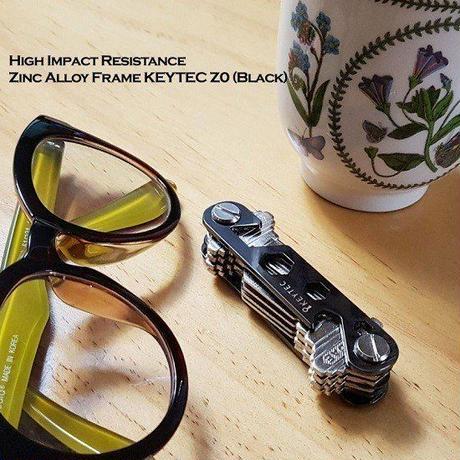 KEYTEC Z0 多機能 キーケース コンパクト キー収納ツール カラビナ&拡張パック付 キースマート