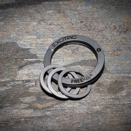 FreeKey システム フリーキー 鍵を簡単に取り外し可能に キーリング キーケース