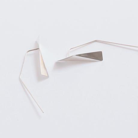 pierced earrings 折り紙