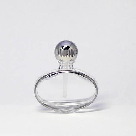 日本製 香水移し替えに便利なノズル&ジョーゴ付パースパフュームボトル ゴンドラ 銀(ヤマダアトマイザー製品)